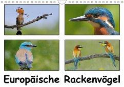 Europäische Rackenvögel (Wandkalender 2018 DIN A4 quer)