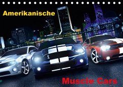 Amerikanische Muscle Cars (Tischkalender 2018 DIN A5 quer)