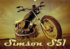 Simson S51 (Wandkalender 2018 DIN A2 quer)