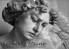 Lebende Steine - Skulpturen auf dem Friedhof St...