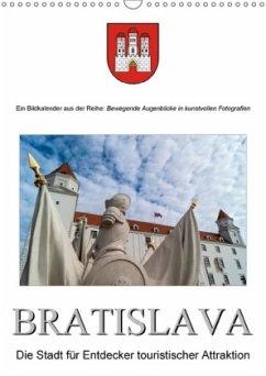 BratislavaAT-Version (Wandkalender 2018 DIN A3 hoch)
