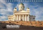 Helsinki - Hauptstadt am Finnischen Meerbusen (Tischkalender 2018 DIN A5 quer)