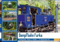 Dampfbahn Furka 2018CH-Version (Wandkalender 2018 DIN A2 quer)