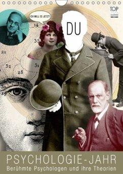 Psychologie-Jahr (Wandkalender 2018 DIN A4 hoch)