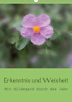 Erkenntnis und Weisheit - Hildegard von Bingen (Wandkalender 2018 DIN A3 hoch)