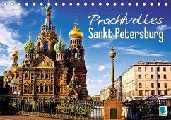 Prachtvolles Sankt Petersburg (Tischkalender 2018 DIN A5 quer) Dieser erfolgreiche Kalender wurde dieses Jahr mit gleichen Bildern und aktualisiertem Kalendarium wiederveröffentlicht.