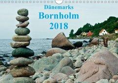 Dänemarks Bornholm 2018 (Wandkalender 2018 DIN A4 quer)