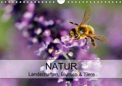 Natur Landschaften, Blumen & Tiere / Geburtstagskalender (Wandkalender 2018 DIN A4 quer) Dieser erfolgreiche Kalender wurde dieses Jahr mit gleichen Bildern und aktualisiertem Kalendarium wiederveröffentlicht.