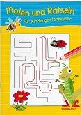 Malen und Rätseln für Kindergartenkinder