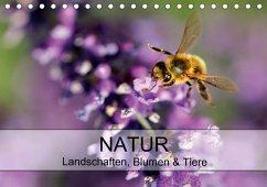 Natur Landschaften, Blumen & Tiere / Geburtstagskalender (Tischkalender 2018 DIN A5 quer) Dieser erfolgreiche Kalender wurde dieses Jahr mit gleichen Bildern und aktualisiertem Kalendarium wiederveröffentlicht.