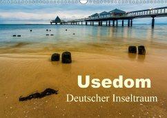 Usedom - Deutscher Inseltraum (Wandkalender 2018 DIN A3 quer)