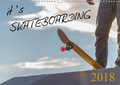 it's SKATEBOARDING (Wandkalender 2018 DIN A3 quer) Dieser erfolgreiche Kalender wurde dieses Jahr mit gleichen Bildern und aktualisiertem Kalendarium wiederveröffentlicht.