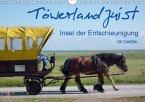 Töwerland Juist (Wandkalender 2018 DIN A4 quer)