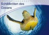 Schildkröten des Ozeans (Tischkalender 2018 DIN A5 quer)