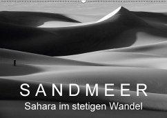 Sandmeer - Sahara im stetigen Wandel (Wandkalender 2018 DIN A2 quer)