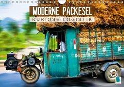 Moderne Packesel: kuriose Logistik (Wandkalender 2018 DIN A4 quer)