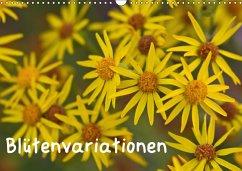 Blütenvariationen / Geburtstagskalender (Wandkalender 2018 DIN A3 quer)