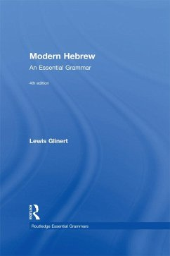 Modern Hebrew: An Essential Grammar (eBook, PDF)