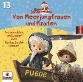Unser Sandmännchen - Von Meerjungfrauen und Piraten, 1 Audio-CD