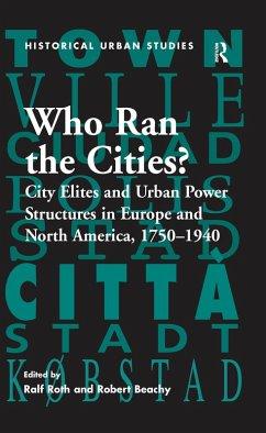 Who Ran the Cities? (eBook, PDF)