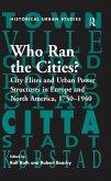 Who Ran the Cities? (eBook, ePUB)