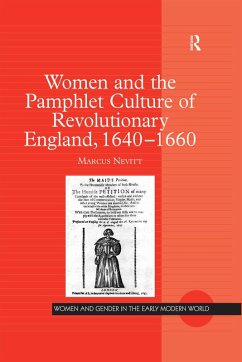 Women and the Pamphlet Culture of Revolutionary England, 1640-1660 (eBook, ePUB)