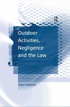 Outdoor Activities, Negligence and the Law (eBook, ePUB)