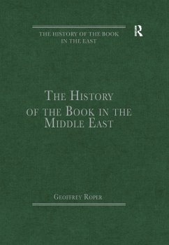 The History of the Book in the Middle East (eBook, PDF)