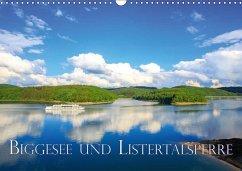 Biggesee und Listertalsperre (Wandkalender 2018 DIN A3 quer)