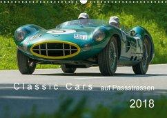 Classic Cars auf Passstrassen 2018CH-Version (Wandkalender 2018 DIN A3 quer) Dieser erfolgreiche Kalender wurde dieses Jahr mit gleichen Bildern und aktualisiertem Kalendarium wiederveröffentlicht.