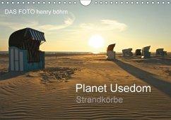 Planet Usedom Strandkörbe (Wandkalender 2018 DIN A4 quer) Dieser erfolgreiche Kalender wurde dieses Jahr mit gleichen Bildern und aktualisiertem Kalendarium wiederveröffentlicht.
