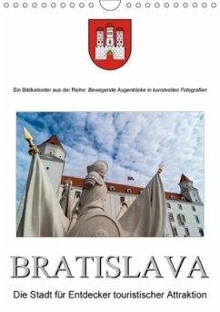 BratislavaAT-Version (Wandkalender 2018 DIN A4 hoch)