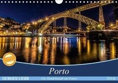 Porto - Die Handelsstadt am Douro (Wandkalender 2018 DIN A4 quer) Dieser erfolgreiche Kalender wurde dieses Jahr mit gleichen Bildern und aktualisiertem Kalendarium wiederveröffentlicht.