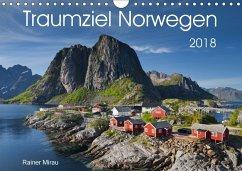 Traumziel Norwegen 2018 (Wandkalender 2018 DIN A4 quer) Dieser erfolgreiche Kalender wurde dieses Jahr mit gleichen Bild - Mirau, Rainer