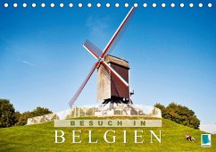 Besuch in Belgien (Tischkalender 2018 DIN A5 quer)