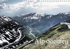 Alp-Sichten 2018 (Wandkalender 2018 DIN A4 quer) Dieser erfolgreiche Kalender wurde dieses Jahr mit gleichen Bildern und - Dietrich, Oliver