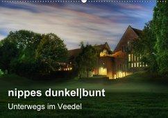 nippes dunkelbunt - Unterwegs im Veedel (Wandkalender 2018 DIN A2 quer)