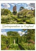 Gartenparadiese in England (Wandkalender 2018 DIN A2 hoch)