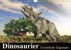 Dinosaurier. Urzeitliche Giganten (Wandkalender 2018 DIN A4 quer) Dieser erfolgreiche Kalender wurde dieses Jahr mit gleichen Bildern und aktualisiertem Kalendarium wiederveröffentlicht.