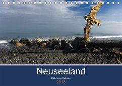 Neuseeland 2018 - Bilder einer Radreise (Tischkalender 2018 DIN A5 quer)