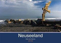 Neuseeland 2018 - Bilder einer Radreise (Wandkalender 2018 DIN A3 quer) Dieser erfolgreiche Kalender wurde dieses Jahr mit gleichen Bildern und aktualisiertem Kalendarium wiederveröffentlicht.