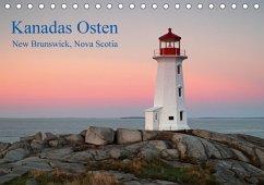 Kanadas Osten (Tischkalender 2018 DIN A5 quer)