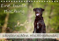 Eine bunte Mischung - wunderschöne Mischlingshunde / Geburtstagskalender (Tischkalender 2018 DIN A5 quer)
