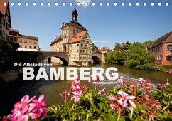 Die Altstadt von Bamberg (Tischkalender 2018 DIN A5 quer)