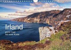 Irland, grüne Insel mit rauer Küste (Wandkalender 2018 DIN A4 quer) - Roskamp, Jan