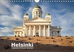 Helsinki - Hauptstadt am Finnischen Meerbusen (Wandkalender 2018 DIN A4 quer)