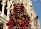 Maskenzauber in Venedig 2018 (Wandkalender 2018 DIN A3 quer)