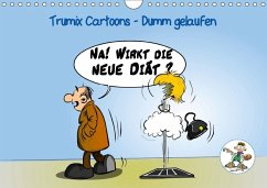 Trumix Cartoons - Dumm gelaufen (Wandkalender 2018 DIN A4 quer)