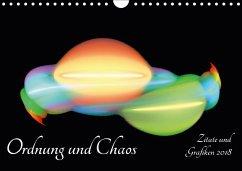 Ordnung und Chaos - Zitate und Grafiken 2018 (Wandkalender 2018 DIN A4 quer) Dieser erfolgreiche Kalender wurde dieses Jahr mit gleichen Bildern und aktualisiertem Kalendarium wiederveröffentlicht.