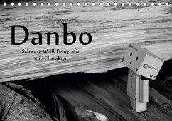 Danbo - Schwarz-Weiß Fotografie mit Charakter (Tischkalender 2018 DIN A5 quer)